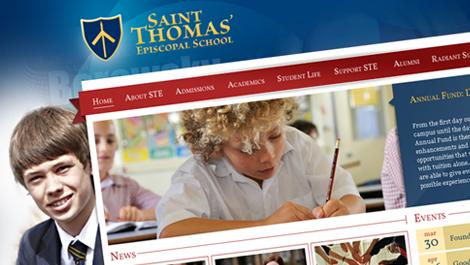 Saint Thomas   Diseño web