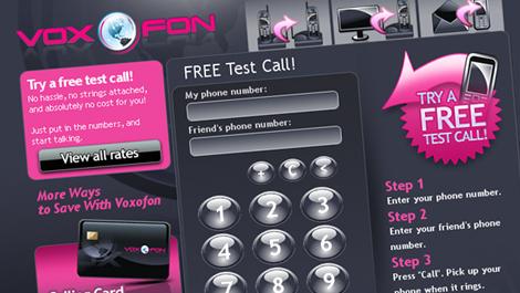 Voxofone | Diseño y desarrollo web