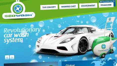GeoWash – Sistema de lavado de autos ecológico | Diseño Web y Desarrollo
