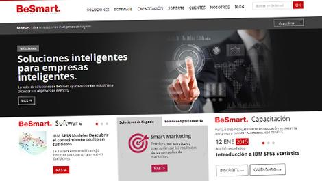 BeSmart | Sitio web responsive