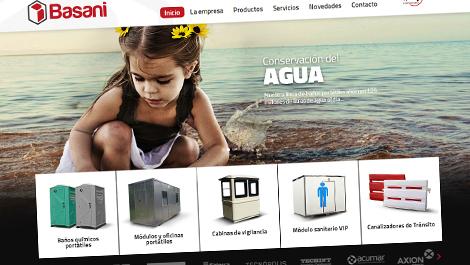 BASANI | Web multisite y diseño de identidad