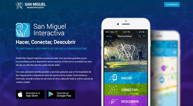 San Miguel Interactiva, app para iOS y Android