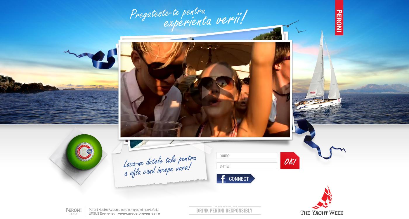 Peroni Yatch website
