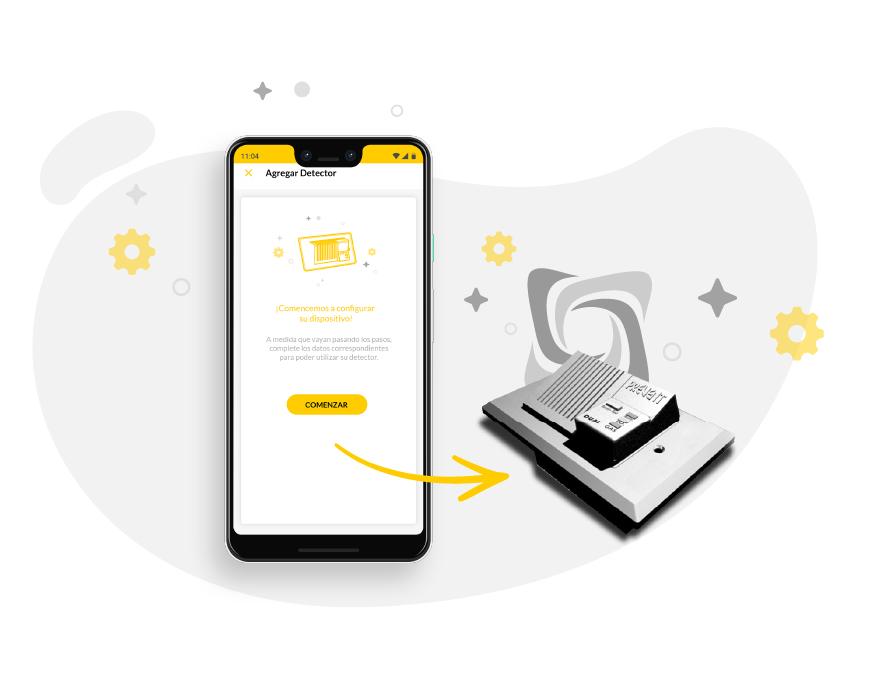 QKStudio Preventgas APP - Agregar dispositivo