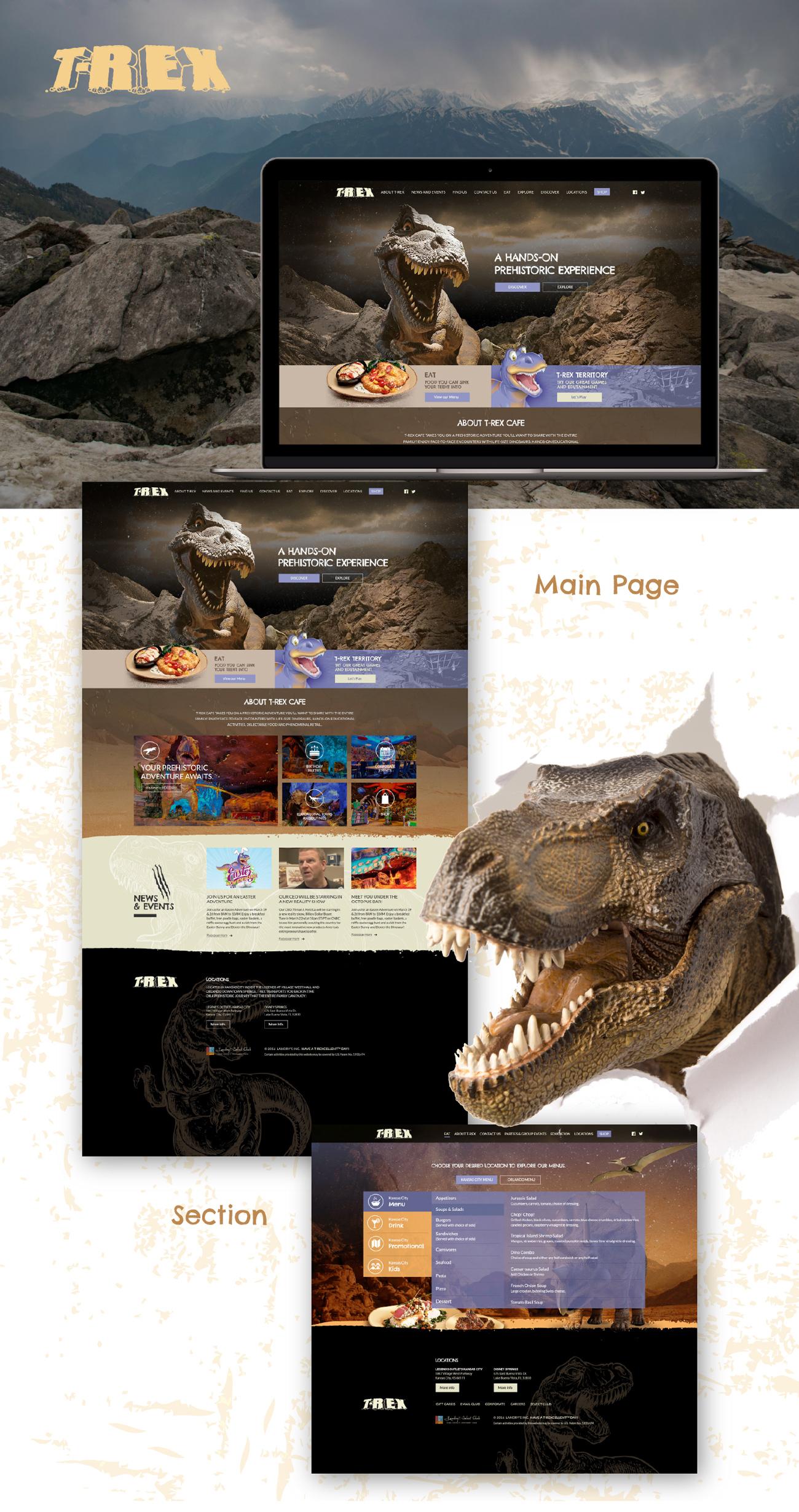 T-Rex Website